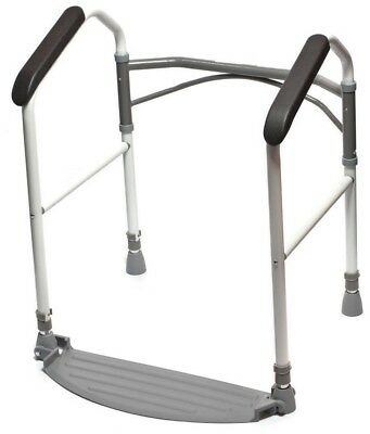Folding Toilet Frame - Fold Easy - Height Adjustable - Mobility Aid