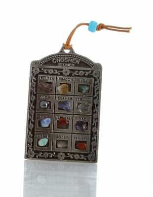 Hoshen Stone Breastplate Wall Hanging Messianic Judaica Blessing Holy Land gift