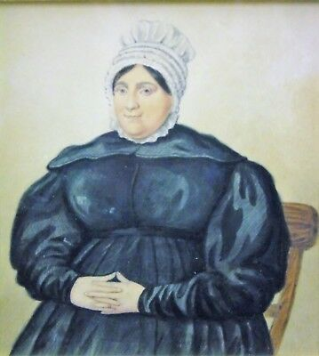 Late 18th Century Watercolour Portrait of Seated Woman Robert Dighton