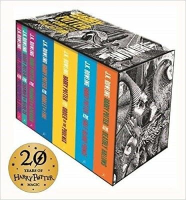 Harry Potter Boxed Set: The Complete Collection (Adult Paperback) - J.K. Rowling