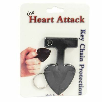 Lot of Five Ladies Heart Attack Key Chain For Personal Protection Nice Gifts