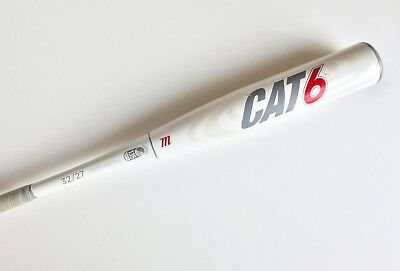 Marucci Cat 6 32/27 SENIOR League Baseball Softball Bat Alloy Model MSBC65