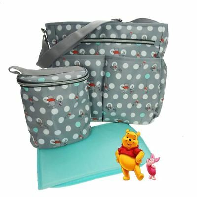 Baby Girl Boys Changing Bag Set Accessory Winnie the Pooh 3 Pieces