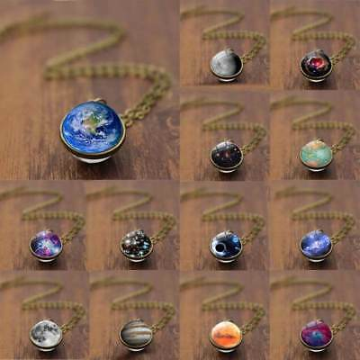 Xmas Gift 7 Type UNIVERSE IN A NECKLACE Nebula Galaxy Universe Necklace Pendant