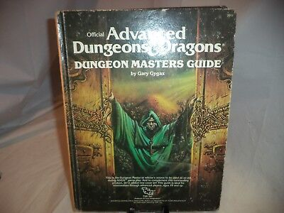 Advanced Dungeons and Dragons DUNGEON MASTER'S GUIDE-Vintage HC