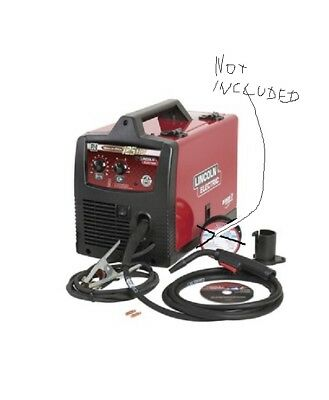 Lincoln Electric K2513-1 Weld-Pak 125 A Flux-Cored Wire Welder w/Magnum 100L Gun
