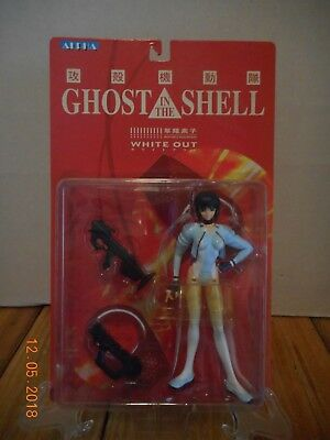 Ghost in the Shell - Major Mokoto Kusanagi White Out Action Figure - NEW