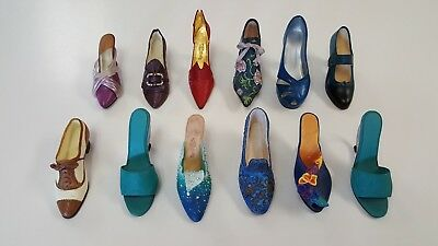 JUST THE RIGHT SHOE Collectible Shoe Figurine Lot Names in Description