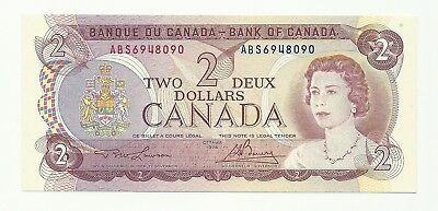 1974 Canada Two Dollar Bank Note (Unc)