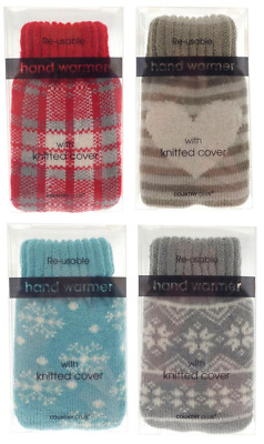 Reusable Mini Instant Hand Warmer Heat Pack Gel Pads Pocket With Cover Stocking