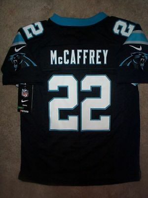 IRREGULAR  Carolina Panthers CHRISTIAN McCAFFREY nfl NIKE Jersey Youth  m-medium 50f979194