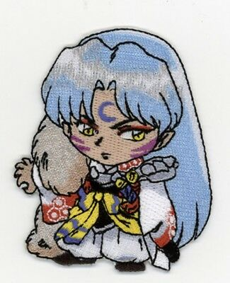 Inuyasha Sesshomoru Anime Patch New Cosplay Anime Manga Official Licensed 3 In