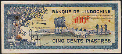 Banknote FRENCH INDOCHINA - 500 Piastres ND (1944-1945) - P. 68