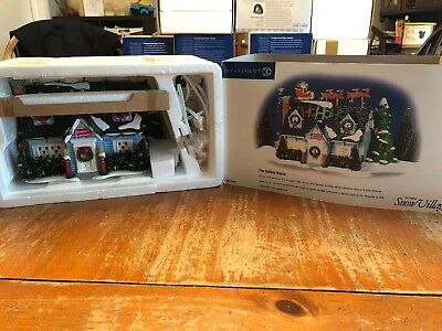 Dept 56 Snow Village® THE HOLIDAY HOUSE -  BRAND NEW NEVER DISPLAYED