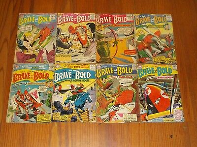 The Brave And The Bold Comics Nos. 2, 3 & 5-10 Set