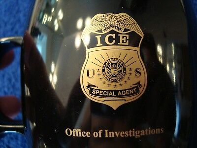 Authentic Ice Special Agent - Office Of Investigations - Coffee Mug