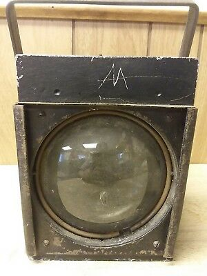 Vintage Antique Stage Light Theater