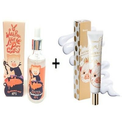 [Elizavecca] Witch Piggy Hell Pore Control Hyaluronic acid 97%+Bomb Eye Cream