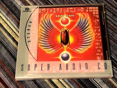 Journey    Greatest Hits    Columbia   Sacd   With Slipcover   Rare  Oop  Mint!!