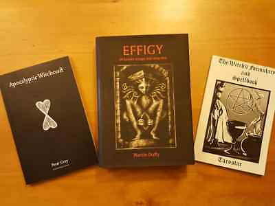 Effigy of Graven Image and Holy Idol + 2 additional Witchcraft/occult Spellbooks