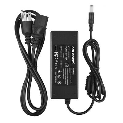 PwrON AC DC Adapter Charger for CRAIG CLC504E CLC501 High Definition LCD TV HDTV