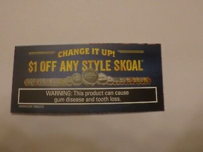 lot of 9 snuff coupons skoal copenhagen  $16.50 in savings UPDATED