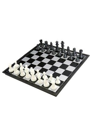 25cm X 25cm Chess Board Magnetic Chess Set Folding Game Box Outdoor Portable AU
