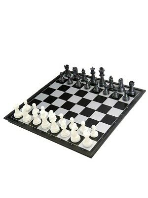 31cm X 31cm Chess Board Magnetic Chess Set Folding Game Box Outdoor Portable AU