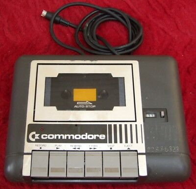 Commodore 1531 Data Cassette player for plus/4 and C16