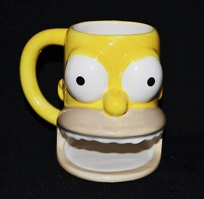 The Simpsons Homer Ceramic Mug With Cookie Holder 2007