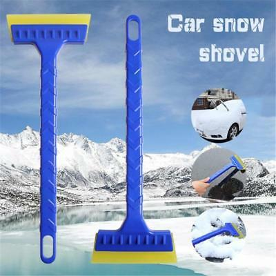 UK Car Snow Ice Scraper Windscreen Frost Window Remover Shovel With Long Handle