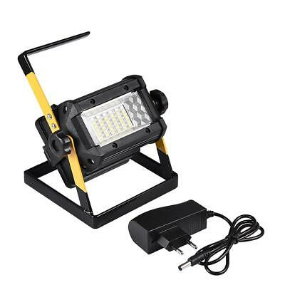 50W Rechargeable 36 LED Portable Outdoor Camping Flood Light Spot Work Lamp UK