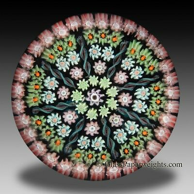 Perthshire colorful patterned millefiori paperweight Scotland