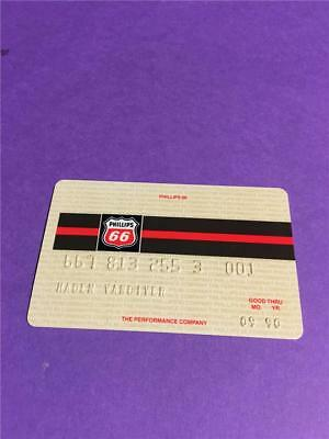 Vtg Phillips 66 Gas  Credit Card Collectors Advertising