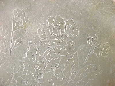 Signed 1932 Acid-Etched Arts Crafts Pewter Plate Depression-Era Modern Metal 7+""