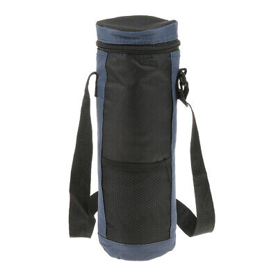 Insulated Wine Bottle Carry Bag Waterproof Travel Picnic Cooler Tote with Strap