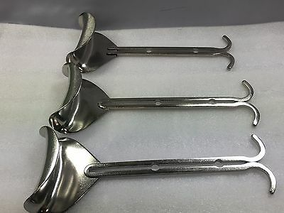 Grieshaber Lots of 3 Retractor Blade Surgical Instruments