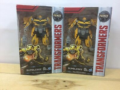 Transformers The Last Night Premier Deluxe Edition BUMBLEBEE Courageous Scout