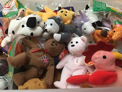 * CHOOSE YOUR TOY * MCDONALDS TY HAPPY MEAL TOY Plush Stuffed Animal Toy