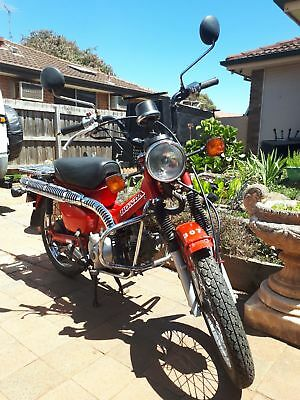 Honda CT110 Postie Bike 1999