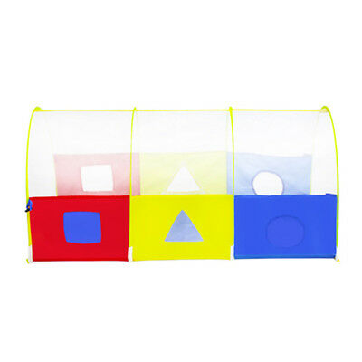"""Kids Children Colorful Play Tunnel Tent Pop-up Crawl Tube, 43''(L)X20""""(D)"""