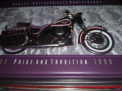 Harley-Davidson Motorcycles 95th Anniversary Collectible Tin & Playing Cards