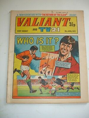 VALIANT And TV 21 comic 29th April 1972