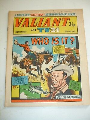 VALIANT And TV 21 comic 20th May 1972