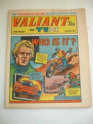 VALIANT And TV 21 comic 8th April 1972