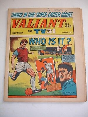 VALIANT And TV 21 comic 1st April 1972