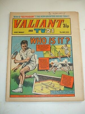 VALIANT And TV 21 comic 13th May 1972