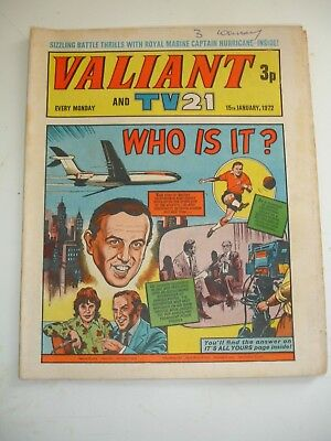 VALIANT And TV 21 comic 15th January 1972