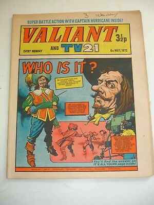 VALIANT And TV 21 comic 6th May 1972