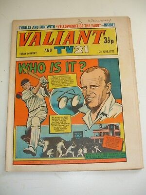 VALIANT And TV 21 comic 3rd June 1972